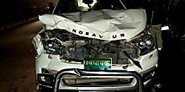BIG BREAKING : बाल बाल बचे राजद विधायक शमीम अहमद, नीलगाय से टकराई गाड़ी