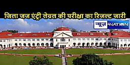 बिहार डिस्ट्रिक्ट जज की एंट्री लेवल परीक्षा का रिजल्ट जारी, 53 में से 16 अभ्यर्थी हुए सफल