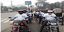 नागरमल शॉपिंग मॉल द्वारा मनाया गया सड़क सुरक्षा सप्ताह