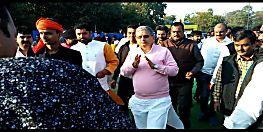 पटना यूनिवर्सिटी पहुंचे मंत्री ललन सिंह, छात्रों से कहा-शांतिपूर्वक और हर्षोल्लास के साथ मनाएं त्योहार