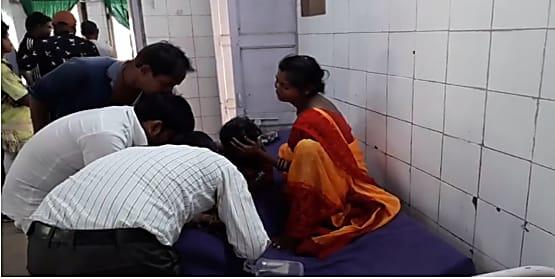 सासाराम में खौलते दूध में गिरी चार साल की बच्ची, गंभीर रूप से हुई जख्मी, अस्पताल में चल रहा है इलाज