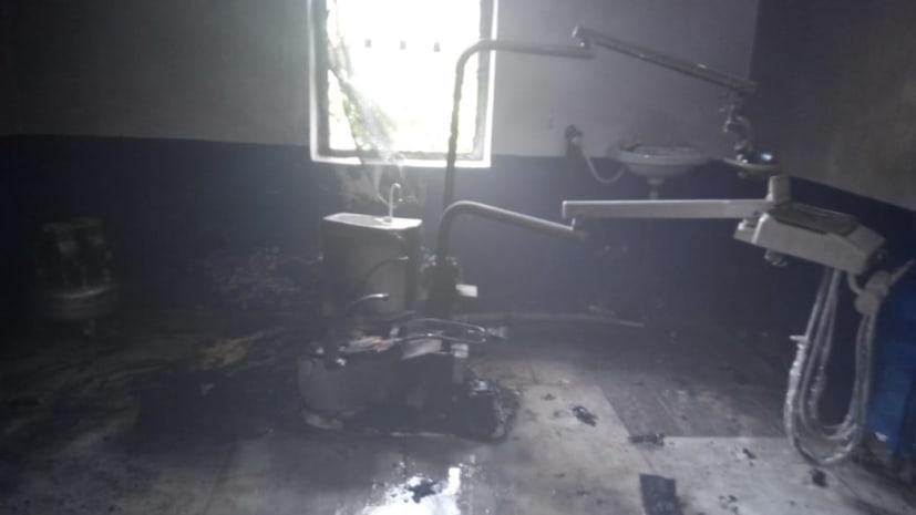 नवादा सदर अस्पताल के इमरजेंसी वार्ड में लगी आग, अस्पताल में मची अफरातफरी