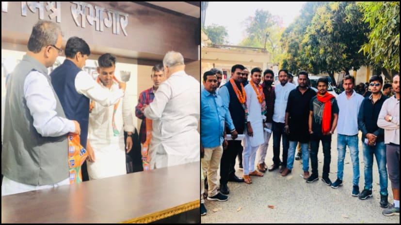 भाजपा के प्रति युवाओं का रुझान बढ़ा, राहुल देव को नित्यानंद राय ने दिलाई पार्टी की सदस्यता