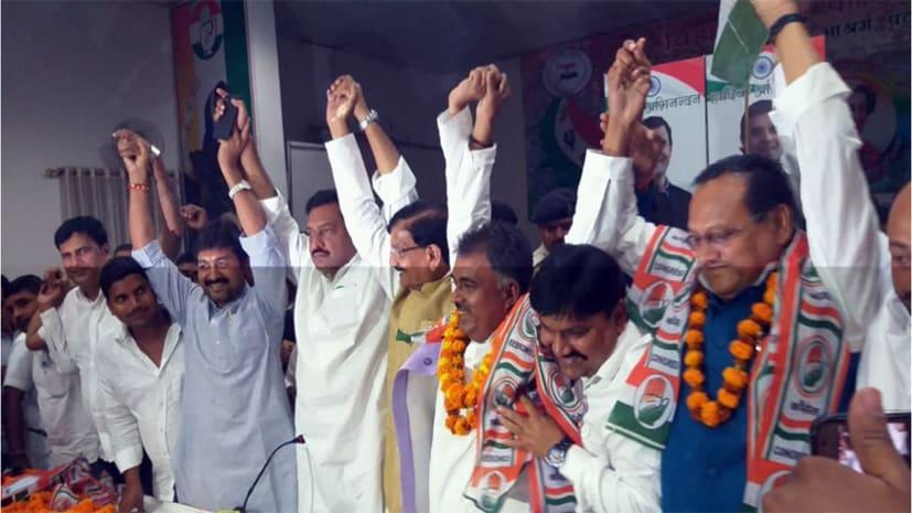 जेडीयू के पूर्व MLC अपने समर्थकों के साथ कांग्रेस में हुए शामिल, बिहार प्रभारी गोहिल ने दिलाई पार्टी की सदस्यता