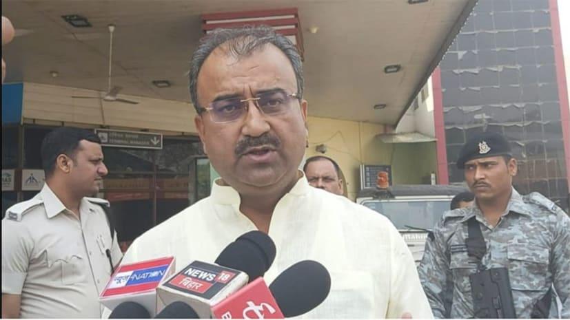 पीएम मोदी पर शिवानंद तिवारी ने दिया यह बयान, स्वास्थ्य मंत्री मंगल पांडेय बोले देर से आया समझ