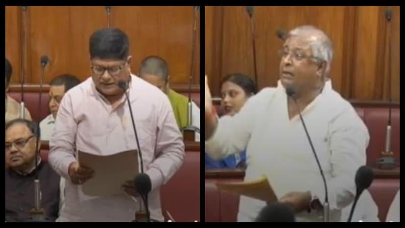 जेडीयू विधानपार्षद ने मंत्री सुरेश शर्मा को जमकर सुनाया,कहा- मंत्री जी विभाग पर आपका नियंत्रण नहीं विजेन्द्र बाबू से जवाब देना सीखिए...