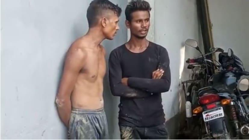 स्कूल में पीटी करती छात्राओं पर युवकों ने कसी फब्तियां, पुलिस ने दो को किया गिरफ्तार