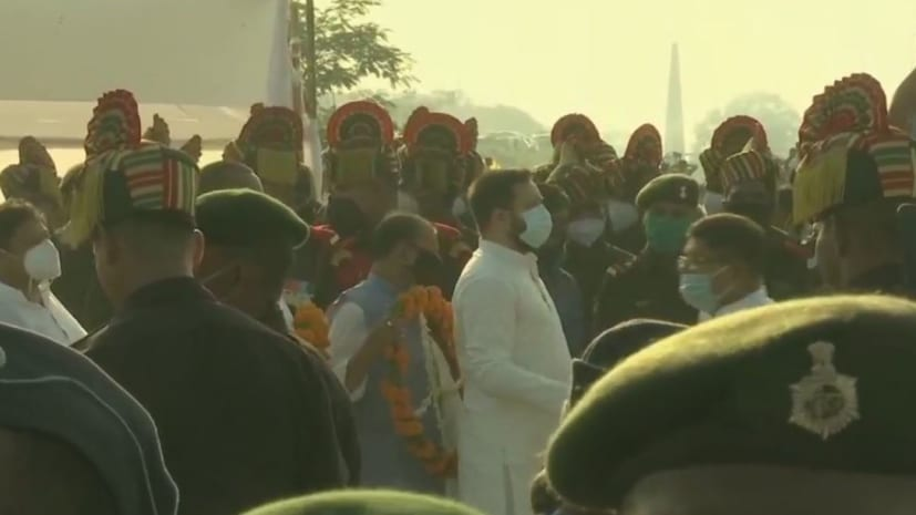 जनार्दन घाट पर रामविलास पासवान को दी जा रही श्रद्धांजलि, सीएम नीतीश- तेजस्वी यादव ने दी श्रद्धांजलि