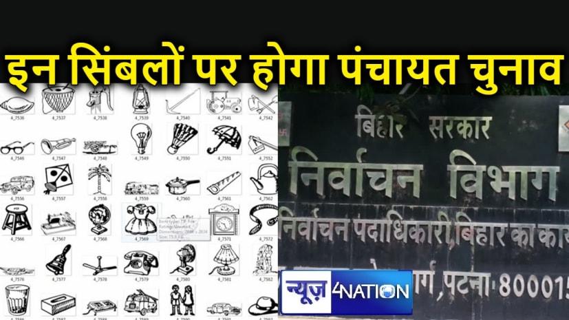 पंचायत चुनाव के लिए आयोग ने जारी किए सिंबल, टमटम, हवाई जहाज, लड्डू से लेकर गाजर, मोर, मोबाइल सहित कई चुनाव चिह्न