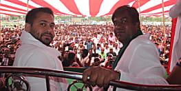 तेजस्वी की हुंकार - भाजपा में मिल गए नीतीश चाचा, अब जनता उन्हें मिट्टी में मिलायेगी