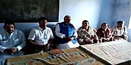 नवादा पहुंचे संसदीय कार्य मंत्री श्रवण कुमार, ठनका से मारे गए लोगों के परिजनों से की मुलाकात