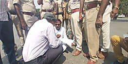RJD MLA को पुलिस ने हिरासत में लिया, CM आवास के सामने दे रहे थे धरना...