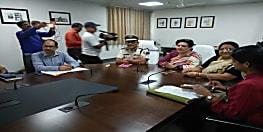 राष्ट्रीय महिला आयोग की अध्यक्ष रेखा शर्मा ने डीजीपी से की मुलाकात, शेल्टर होम गैंगरेप मामले में पुलिस से जवाब मांगने आई हैं बिहार