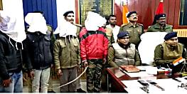 शिवहर में पांच लाख रूपये की सुपारी लेकर की गयी थी चिमनी मालिक की हत्या, पुलिस ने दो शूटरों को किया गिरफ्तार