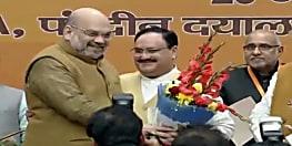 New BJP President: जेपी नड्डा के हाथों में बीजेपी की कमान, निर्विरोध चुने गए पार्टी के 11वें अध्यक्ष