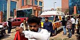 पुलिस मुख्यालय के सामने शख्स ने की आत्मदाह करने की कोशिश, पुलिस ने लिया हिरासत में