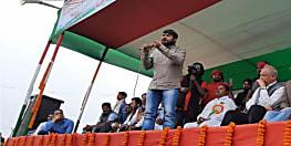 पूर्णिया में केंद्र सरकार पर जमकर बरसे कन्हैया, कहा तड़ीपार को देश का प्रधानमंत्री बनाना चाहते है पीएम