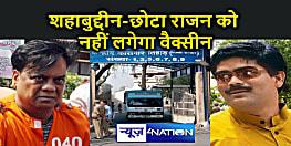 Delhi News : तिहाड़ जेल कैदियों को कोरोना का टीका देने का काम शुरू.शहाबुद्दीन व छोटा राजन लिस्ट से बाहर