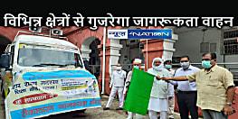 BIHAR NEWS: बिहार राज्य मदरसा बोर्ड द्वारा संचालित कोविड-19 टीकाकरण जागरूकता अभियान भान को हरी झंडी दिखाकर किया गया रवाना