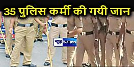 बिहार पुलिस के 35 अधिकारी-कर्मियों ने गंवाई जान, संस्मरण दिवस पर कल श्रद्धांजलि सभा आयोजित