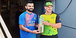 बुधवार को कंगारू के खिलाफ पहला टी-20 , बीसीसीआई ने किया 12 सदस्यीय टीम का ऐलान