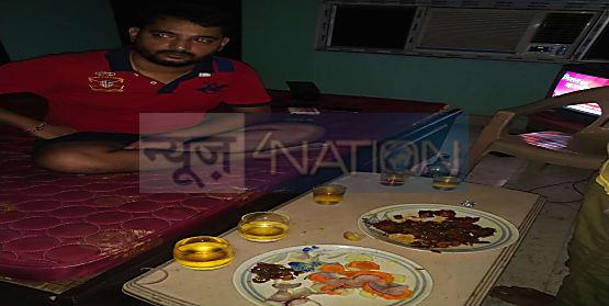 राजधानी पटना में शराब पार्टी करते 5 बड़े कारोबारी गिरफ्तार..एक अपार्टमेंट में चल रही थी पार्टी