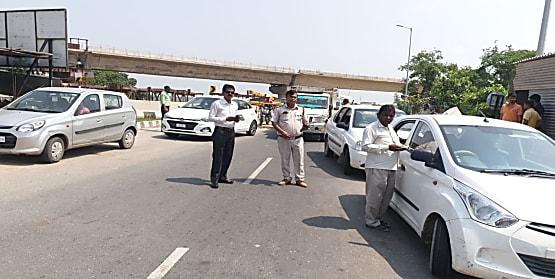 बिहार में सड़क सुरक्षा नियमों का उल्लंघन करते पकड़े गए 1537 वाहन चालक, 5.35 लाख रुपया वसूला गया जुर्माना