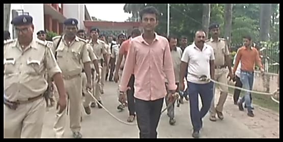 कुख्यात अपराधी विकास झा की फरारी मामले में चार पुलिसकर्मी गिरफ्तार...पुलिस की मिलीभगत से 19 अगस्त को हुआ था फरार