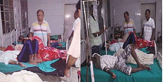 मुज़फ़्फ़रपुर में पूजा का प्रसाद खाने से 43 लोग बीमार, दर्जनभर की हालत गंभीर