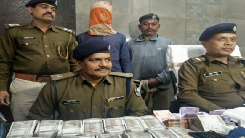पटना चेस्ट हॉस्पिटल में चोरी हुए 10 लाख रुपये का पुलिस ने किया खुलासा, गार्ड ही निकला चोर,7.86 लाख रुपेय बरामद