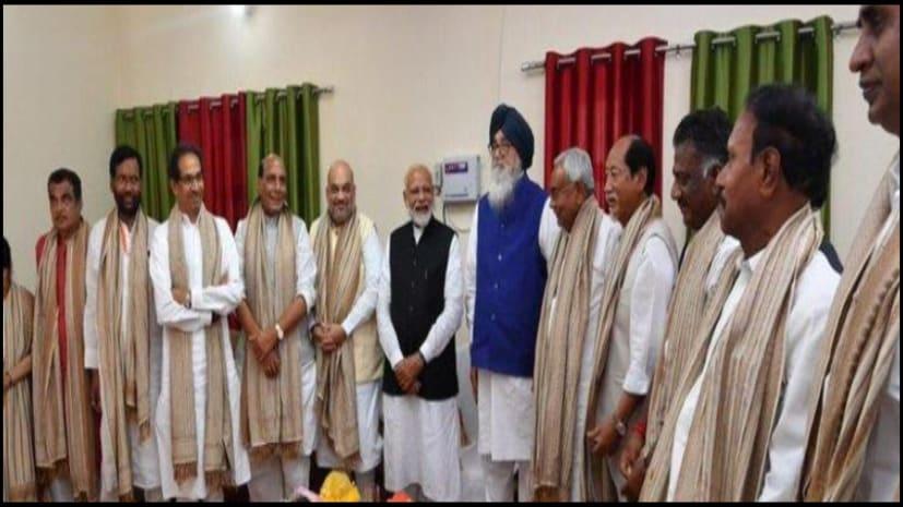 एग्जिट पोल से भाजपा गदगद, अमित शाह ने कल डिनर के लिए एनडीए नेताओं को भेजा न्यौता