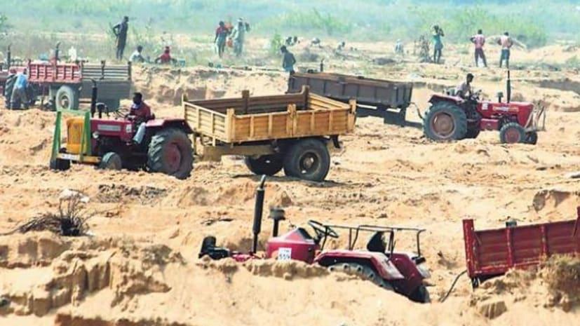 बिहार में बालू घाटों की बंदोबस्ती, 20 परसेंट सुरक्षित राशि  में किया गया इजाफा....