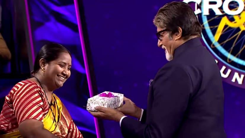केबीसी में अमिताभ बच्चन ने पूछा सात करोड़ का सवाल, जवाब जानते हुए भी चूक गयी महिला