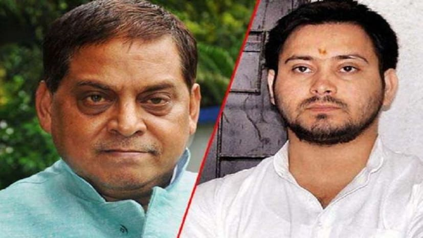 रांची अपने पिता लालू प्रसाद से मिलने गए तेजस्वी पर जदयू नेता नीरज कुमार का तंज, कहा-  राता-राती भाग कर आए मचिया मैन 420