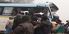 बगहा में सड़क हादसे में 2 की मौत, आक्रोशित लोगों ने पुलिस को खदेड़ा