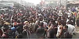 पटना में अंडा दुकानदार की हत्या से भड़के लोग, जमकर कर रहे हंगामा