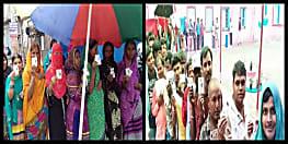 लोकतंत्र के महापर्व को लेकर लोगों में गजब का उत्साह, मूसलाधार बारिश में भी बूथों पर लगी है लंबी कतार