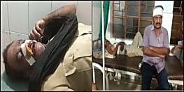 शराब माफिया पुलिस को देखकर डरे नहीं, उल्टा उन पर टूट पड़े, हवलदार समेत 5 जख्मी