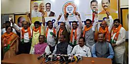 झारखंड : बीजेपी का विपक्ष पर सर्जिकल स्ट्राइक, कांग्रेस-जेएमएम के बड़े नेता समेत पूर्व DGP और IAS पार्टी में शामिल