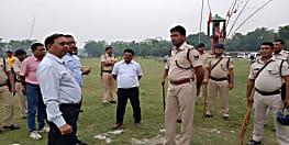 महावीरी अखाड़ा पर पॉलिटेक्निक कॉलेज बनने का ग्रामीणों ने किया विरोध, पुलिस प्रशासन पर किया पथराव