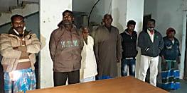 कैमूर में मवेशी तस्करी के खिलाफ पुलिस ने की कार्रवाई, 19 पशुओं सहित 7 को किया गिरफ्तार