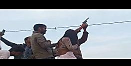 कानून को फायरिंग के धुएं में उड़ा रहा शख्स, सरपंची के जश्न का वीडियो वायरल