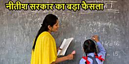 नीतीश सरकार का फैसला,अब बिहार के निवासी ही बन पाएंगे राज्य के प्रारंभिक स्कूलों में टीचर, बाहर वालों की नो एंट्री