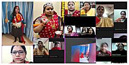 शारदीय नवरात्र पर आई डब्ल्यूसी  पटना वनश्री कल्ब ने किया दुर्गा स्तुति कार्यक्रम आयोजन..