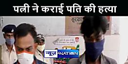 बैंककर्मी प्रेमी के साथ मिलकर पत्नी ने कराई पति की हत्या, पुलिस ने आरोपी को किया गिरफ्तार