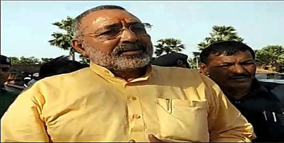 गिरिराज का तेजस्वी-कन्हैया पर अटैक, कहा-बिहार से लापता नेताओं को खोजेगी पुलिस
