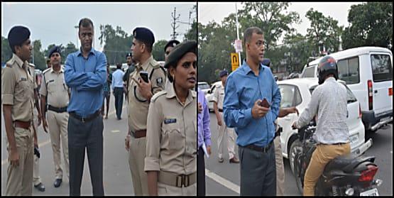 पटना में दूसरे चरण का मेगा वाहन जांच अभियान शुरू, चार सरकारी गाड़ी समेत 740 वाहनों से 8 लाख रुपये जुर्माना वसूला