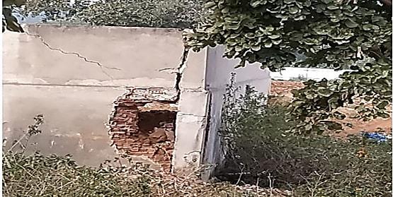 गिरिडीह में  जैन संस्था के भवन को बम ब्लास्ट कर उड़ाने की कोशिश, मामले की जांच में जुटी पुलिस