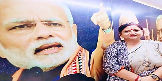 बरबीघा विधानसभा सीट के टिकट को लेकर पूनम शर्मा आश्वस्त, कहा- दमदार खिलाड़ी को हमेशा  मैदान में उतारती है बीजेपी और दमदार कौन है सबको पता है