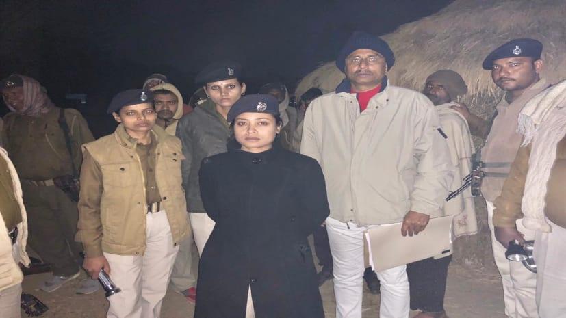 एएसपी लिपि सिंह की बड़ी कार्रवाई, 9 अपराधी गिरफ्तार,हथियार भी बरामद